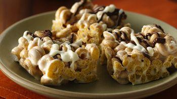 Cinnamon Burst Cheerios® Marshmallow Bars