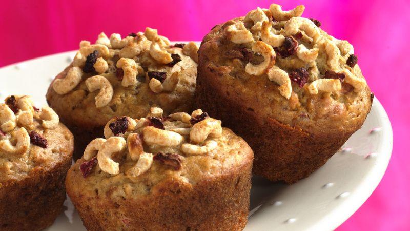 Cheerios™ Banana-Raisin Muffins