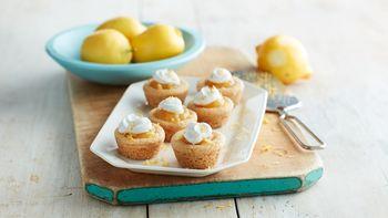 Lemon Cream Pie Cookie Cups