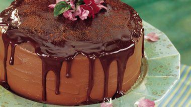 Chocolate-Orange Truffle Cake