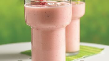 Peach-Berry Smoothie