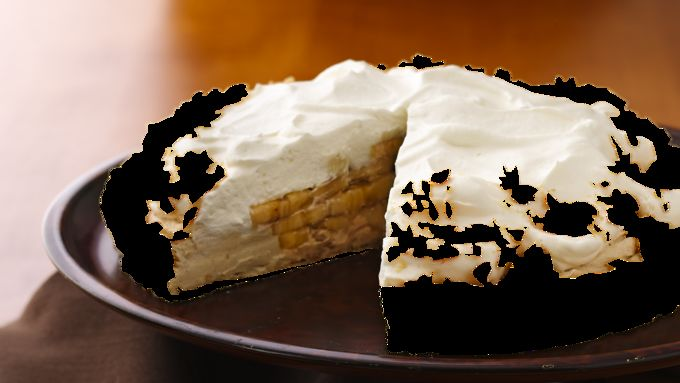 Banana-Peanut Butter Cream Tart