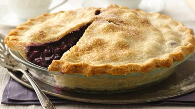 Classic Blueberry Pie