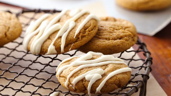 Ginger Pumpkin Cookies