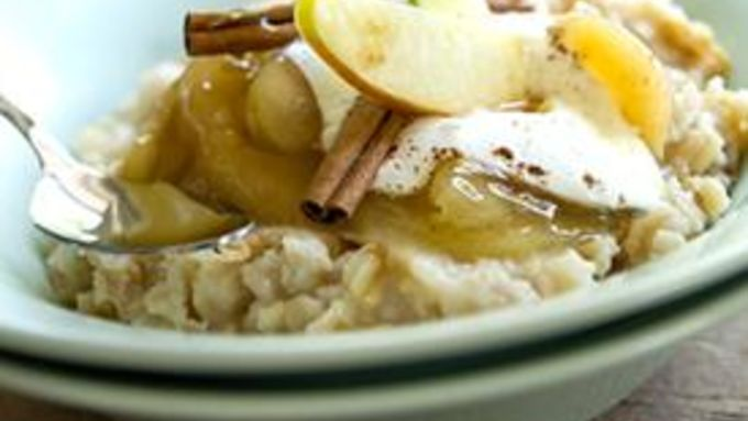 Apple Pie Oatmeal