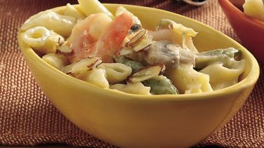Shrimp and Pea Pod Casserole (Cooking for Two)