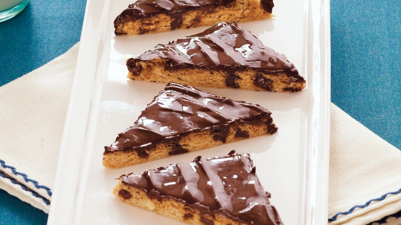 Peanut Butter Chocolate Pan Cookies