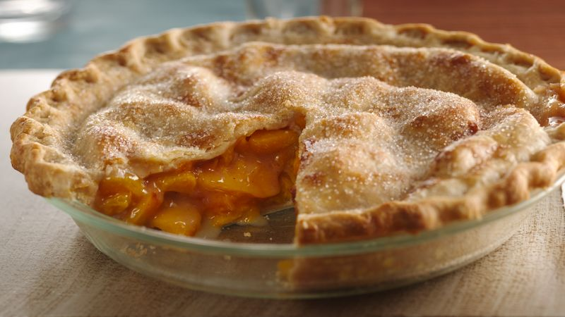 Peach Pie recipe from Betty Crocker