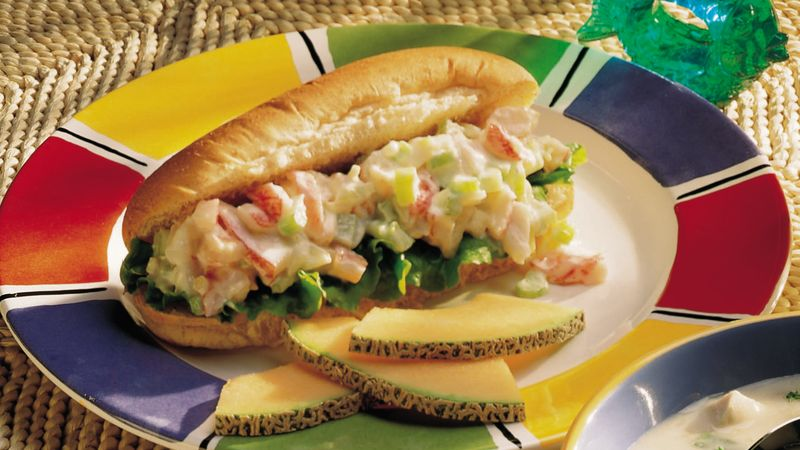 Seafood Salad Sandwiches