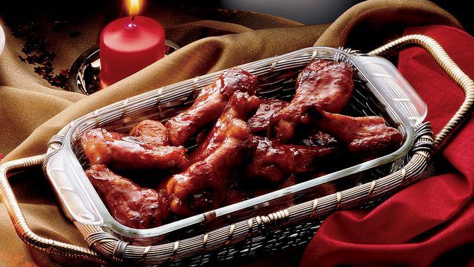 Spicy Honey Chicken Drumettes