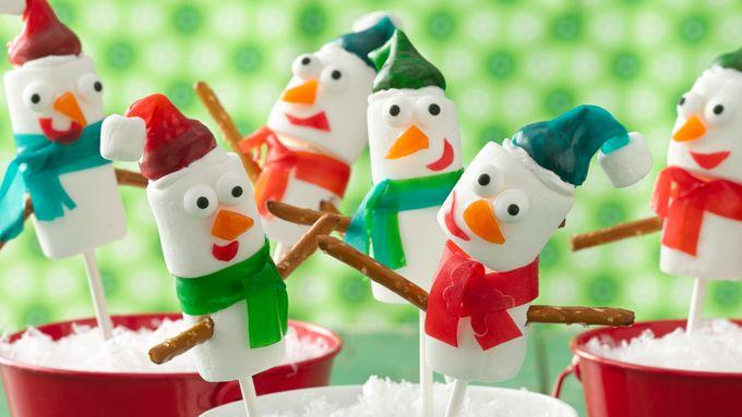 Fruity Snowmen