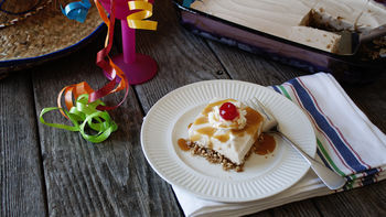 Mexican Fried Ice Cream Dessert