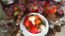 Chiles y Verduras en Escabeche