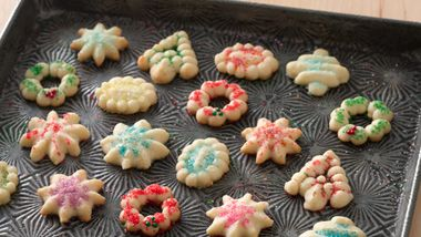 Easy Spritz Cookies