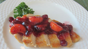 Ginger-Cranberry-Tangerine Sauce