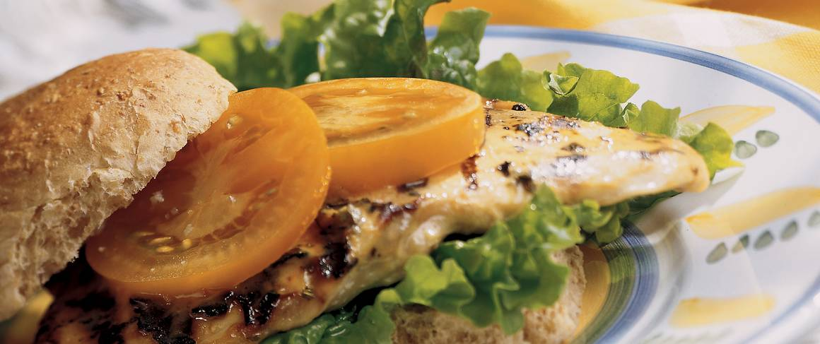 Recipe for honey mustard chicken sandwich