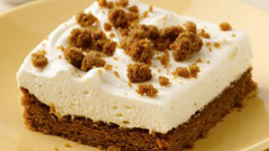 Ginger Cheesecake Dessert