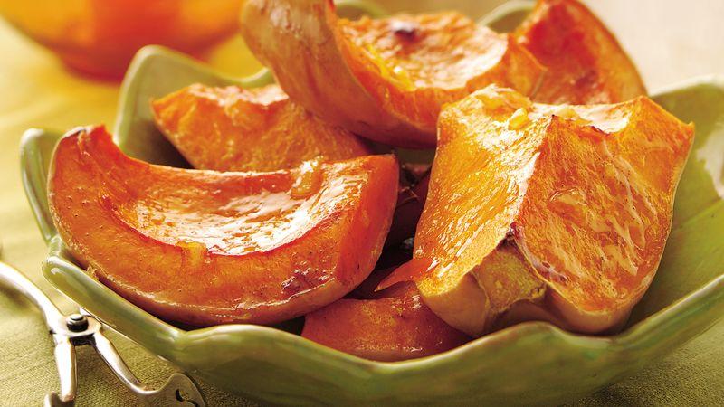 Butternut Squash with Orange-Butter Glaze