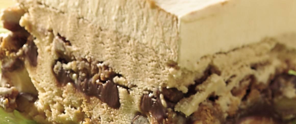 Dulce De Leche-Mocha Ice Cream Dessert Recipe — Dishmaps