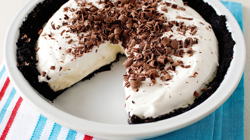 White Chocolate Mud Pie