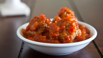 Hearty Italian Meatballs