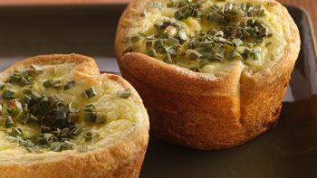 Smoky Onion-Custard Tarts