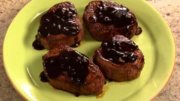 Grilled Steak with Balsamic Teriyaki Sauce
