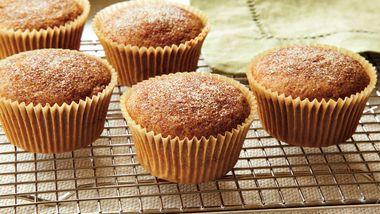 Orange Gingerbread Muffins