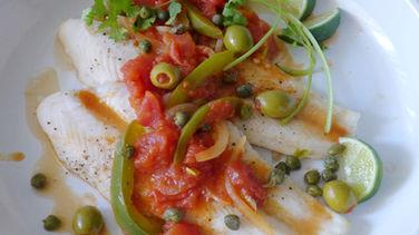 Veracruz Style Fish