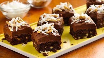 Chocolate Chunk Almond Brownies