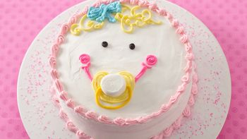 Baby Face Cake