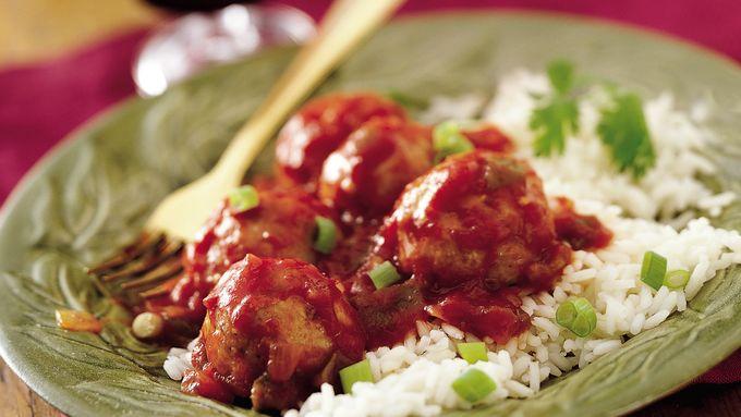 Salsa Turkey Meatballs