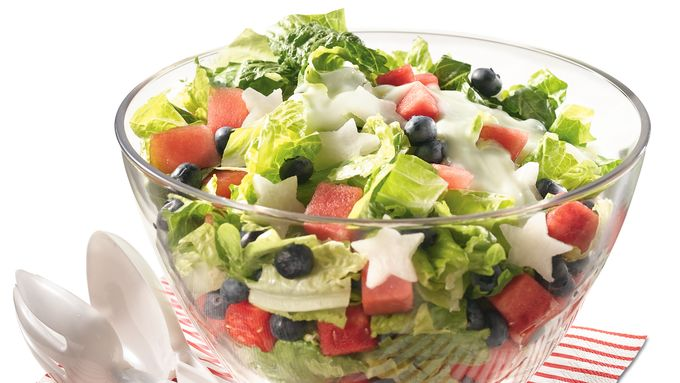 Gluten-Free Red, White and Blueberry Salad