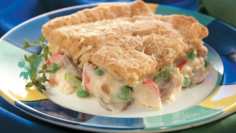 Seafood Crescent Casserole