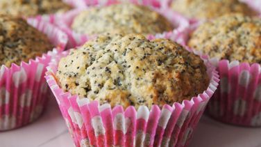 Cupcakes de Poppy Seeds y Yogur