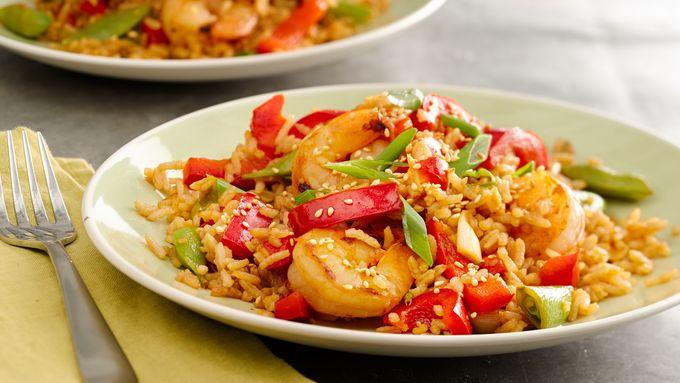Sriracha Shrimp Fried Rice recipe - from Tablespoon!