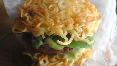 Mini Ramen Burgers