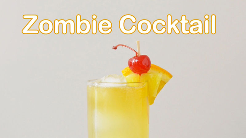 Zombie Cocktail recipe - from Tablespoon!