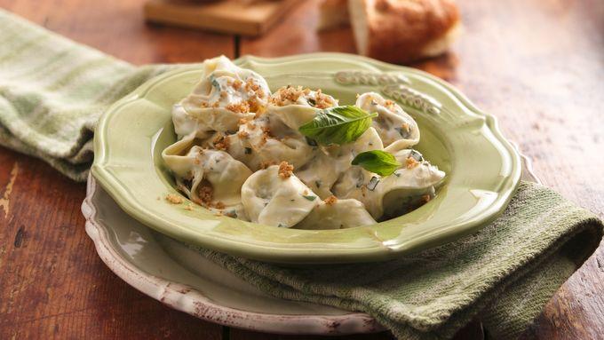Creamy Mushroom Tortelloni
