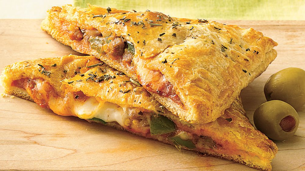 Пицца из дрожжевого слоёного теста рецепт пошагово