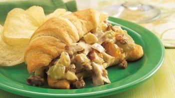 Granola-Chicken Salad Sandwiches