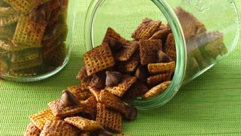 Peanut Butter Blossoms Chex Mix