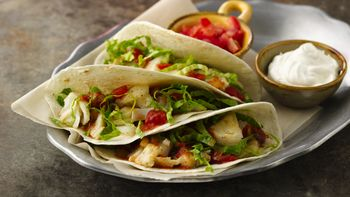 Fish Tacos with Pico de Gallo