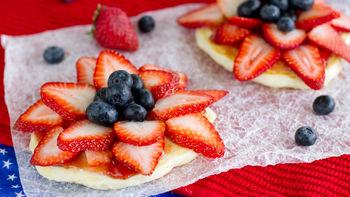Fruity Fireworks Pancakes