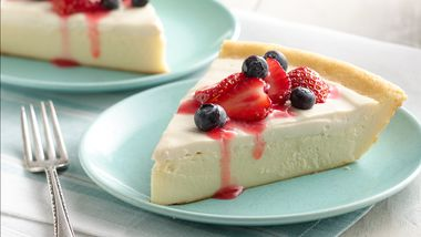 Impossibly Easy Cheesecake