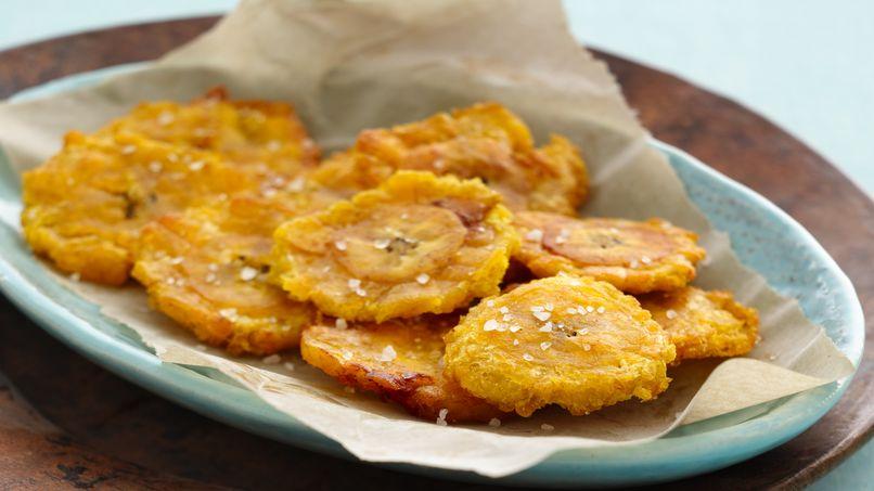 Receta de tostones que rica vida - Que hacer de cenar rapido y facil ...