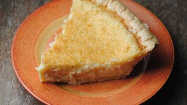 Coconut Flan Pie