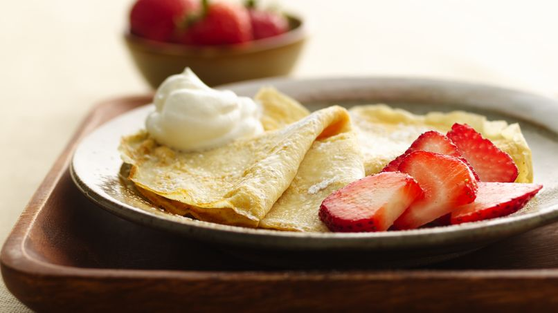 Ricotta-Banana Crepes