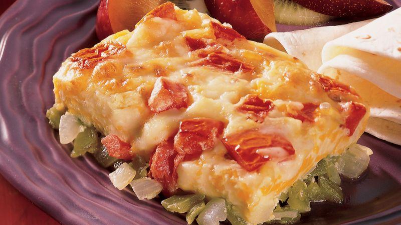 Cheesy Chile Rellenos Casserole