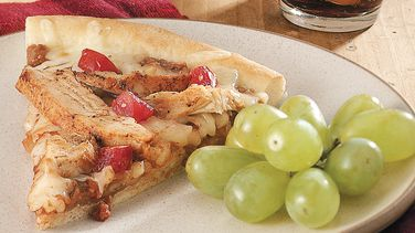 Easy Mexican Chicken Pizza